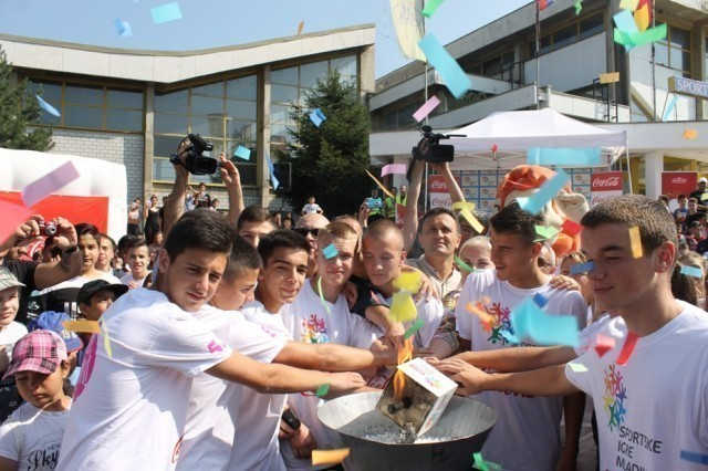 """Отворене """"Спортске игре младих"""" у Врању"""