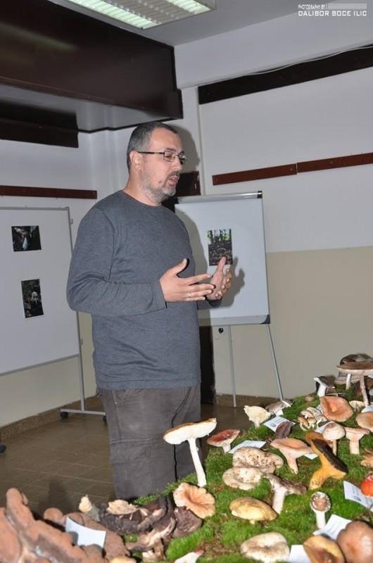 Проф. Срђан Веселиновић на предавању, Фото: Далибор Боцке Илић