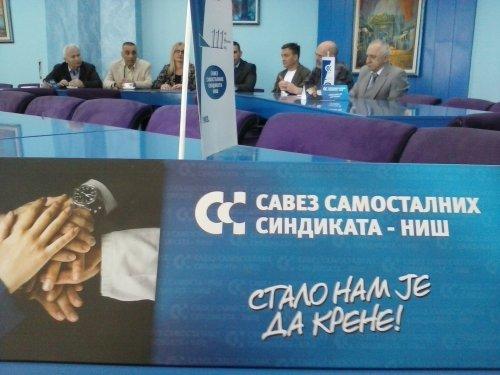 Savez samostalnih sindikata Niš, Foto: Južna srbija Info