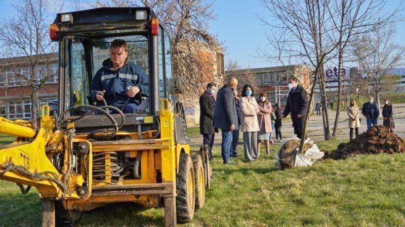 "Više novih stabala i zelenila rezultat saradnje Grada Niša, Gradske toplane i JKP ""Mediana"""