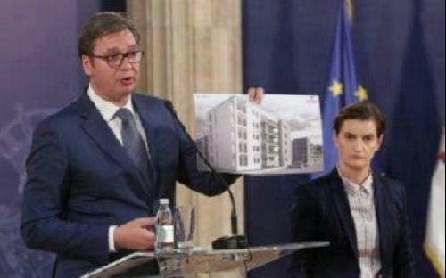 Вучић: Наредних месеци креће изградња станова за безбедњаке у Нишу и Врању