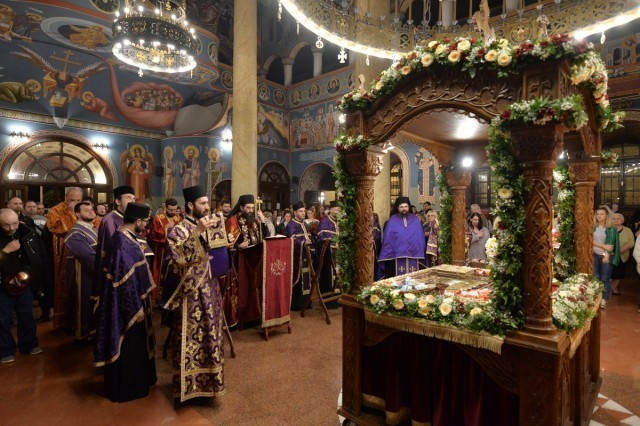 Raspored bogosluženja vladike Arsenija za Vaskrs