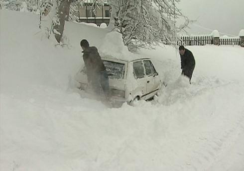 Vanredna situacija zbog snega