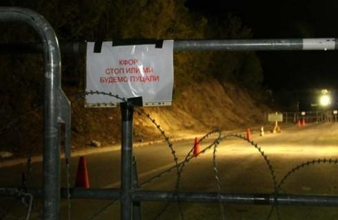Kfor sutra ruši barikade
