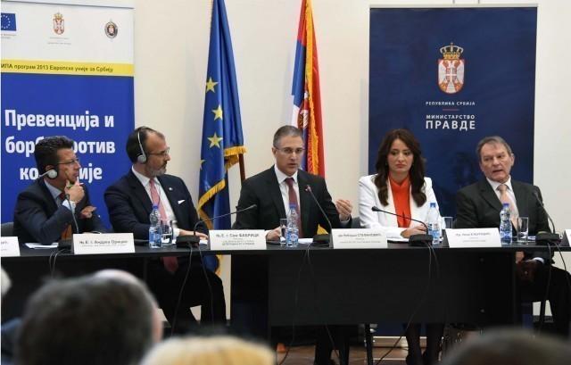 Стефановић у Нишу: У Србији нема заштићених, држава је одлучна да стане на пут свакој врсти корупције