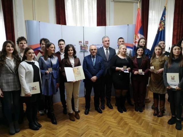 Уручене награде најбољим студентима Универзитета у Нишу