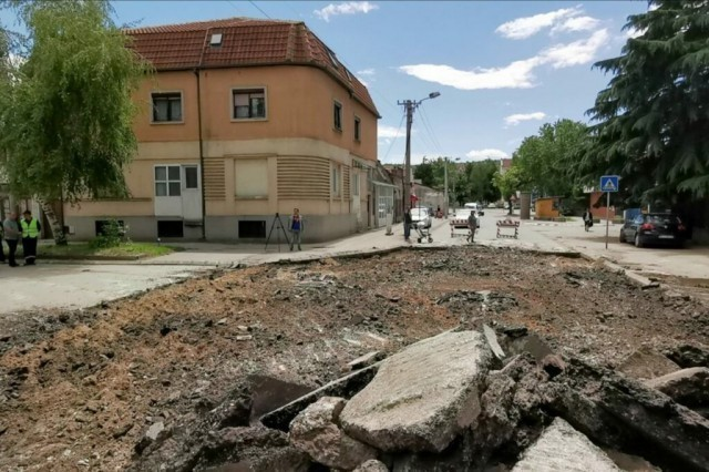 Почела реконстукција Шумадијске улице