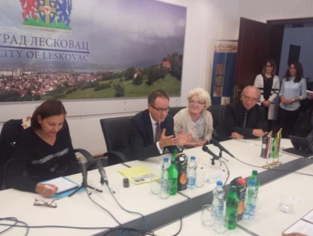 Ambasador Švajcarske po prvi put u Leskovcu
