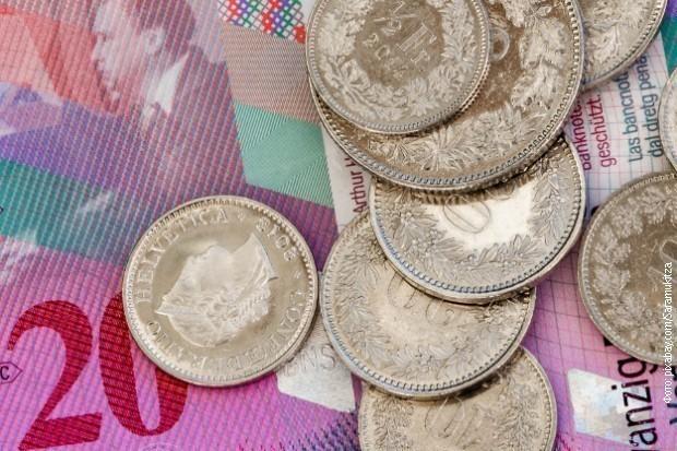 Švajcarski franci (ilustracija)