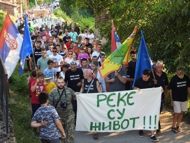 """""""Oslobođena"""" Rudinjska reka na Staroj planini u akciji protiv izgradnje mini-hidrocentrale"""