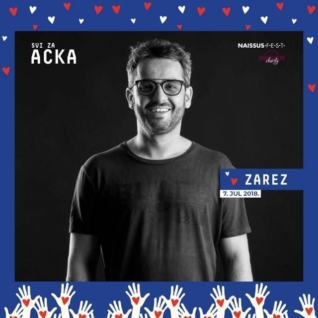 Сви за Ацка: Велика хуманитарна журка у Рововима Тврђаве