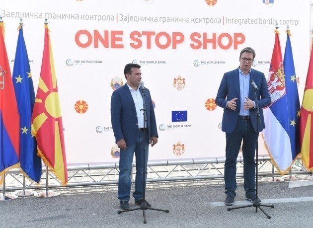 """Vučić na graničnom prelazu Preševo, uskoro jedinstvena zajednička kontrola """"One stop shop"""""""