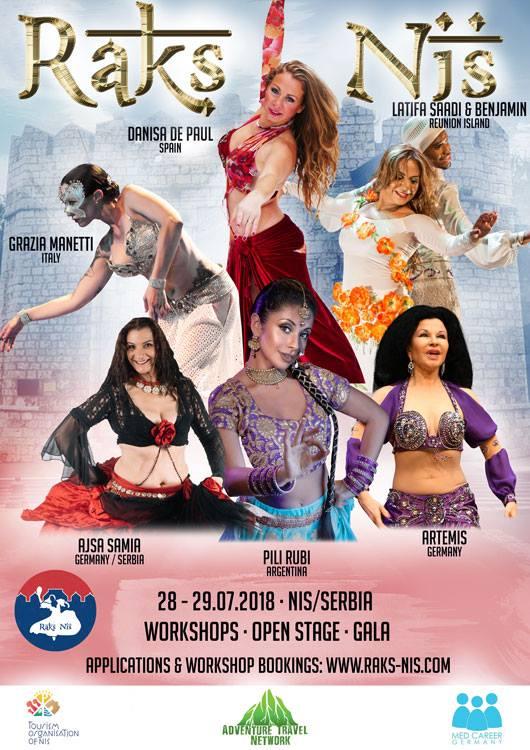 Фестивал оријенталног плеса у Нишу