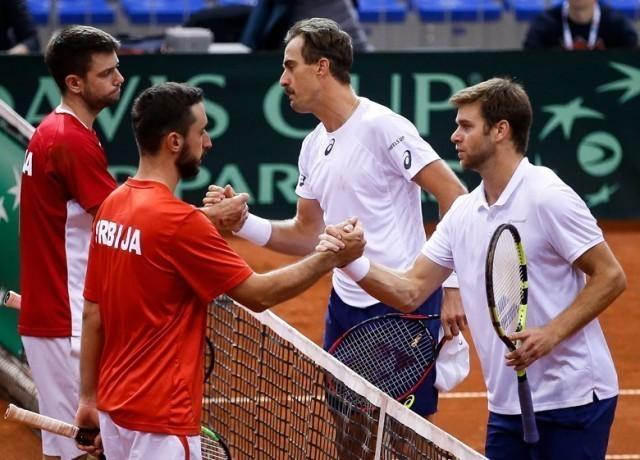 Амерички тенисери савладали репрезентацију Србије у Нишу