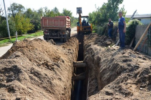 Aleksinac: Infrastrukturni radovi u Tešici