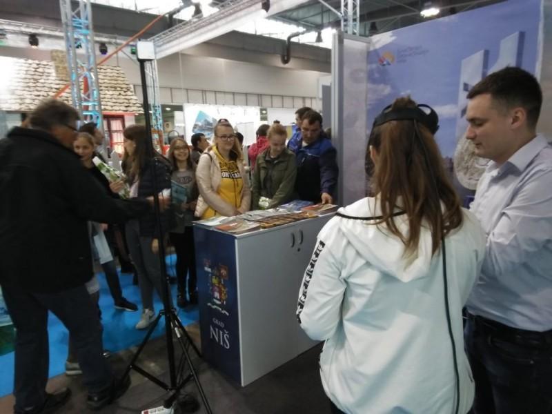 """TON predstavio znamenitosti i turističke potencijale Niša na Međunarodnom novosadskom sajmu """"Lorist"""""""