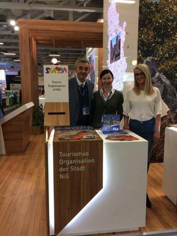 Након Братиславе и Београда, још једна успешна промоција Ниша на Сајму туризма у Берлину - ITB 2018 (ФОТО)