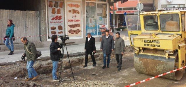 Konačno: U toku je rekonstrukcija Topličine ulice u Nišu