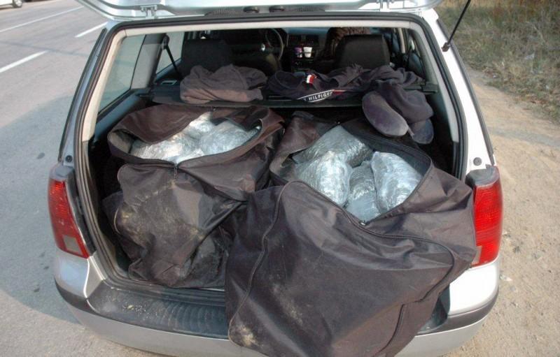 Kod Kuršumlije uhapšen Albanac sa 47 kilograma marihuane