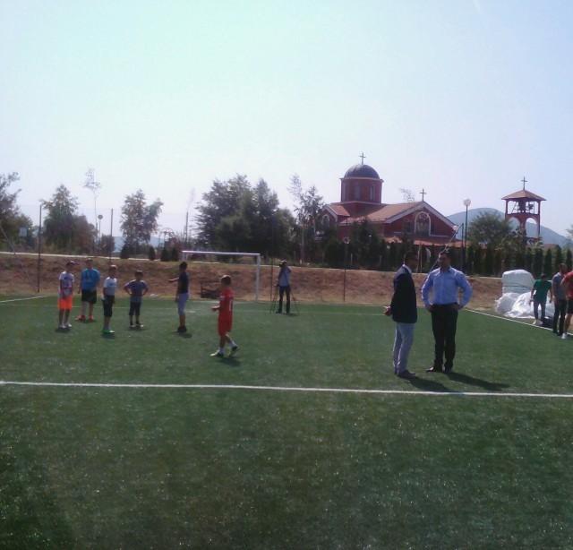 Уз помоћ ГО Медијана, лепши терени за мали фудбал са вештачком травом у Брзом Броду