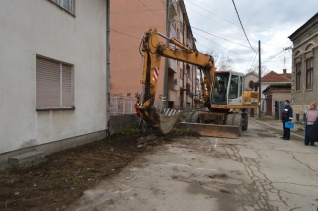 Генерално уређење улица у центру Лесковца