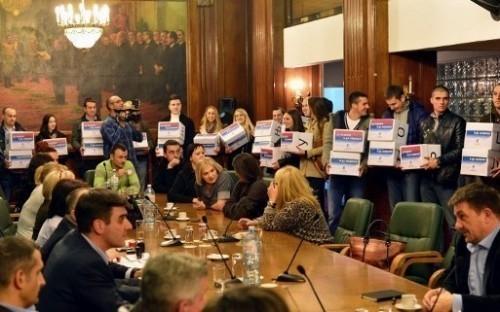 Проглашена изборна листа Уједињених региона Србије