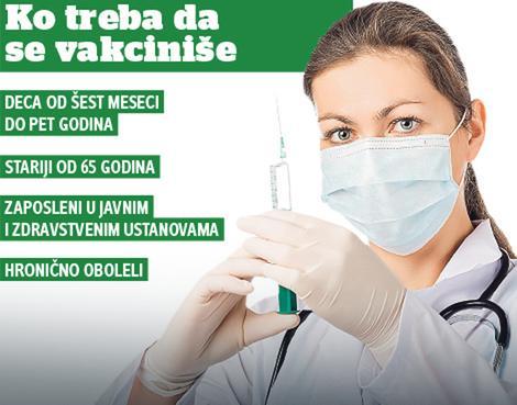 Стигле вакцине са Торлака: Сутра почиње вакцинација против сезонског грипа!