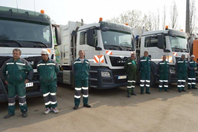 Лесковац: Пет нових камиона за одвоз смећа