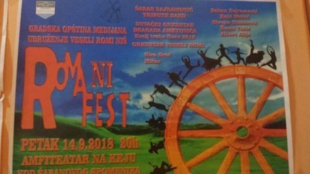 """Romani fest"" - koncert benda ""Veseli Romi"" na Amfiteatru"