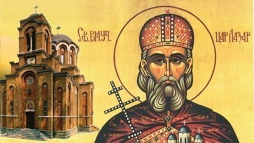 Danas je Sveti mučenik car Lazar - Vidovdan