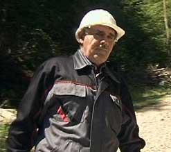 Ljuba Pešić - prvo radno mesto čuvara hidroelektrane u 62. godini