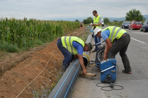 Наставља се изградња водовода у северним деловима на ободу Лесковца