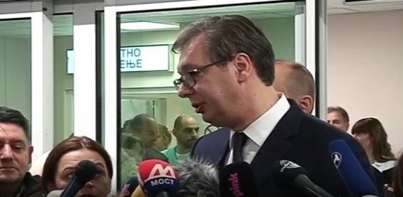 Вучић у Врању: Албанци неће стићи ни до Ниша, ни до Врања!
