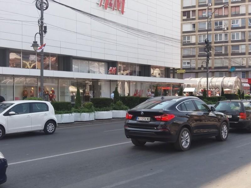 Државне и народне заставе на улицама Ниша - честитка градоначелнице Сотировски