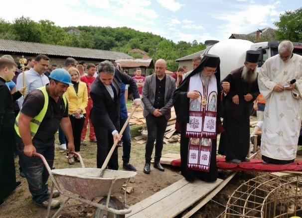 950 година манастира Свети Прохор Пчињски: Почела изградња цркве у селу Златокоп код Врања