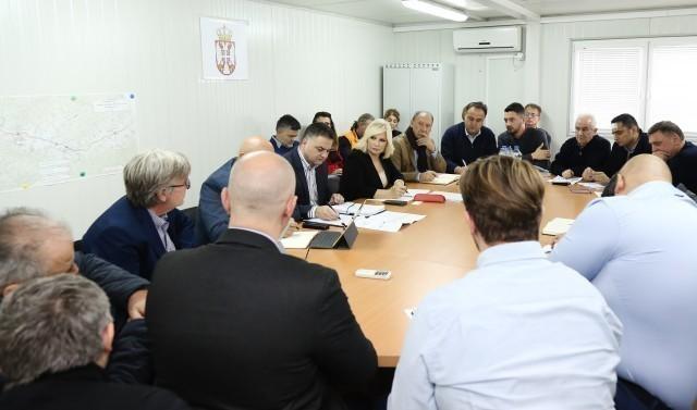 Кабинет министарке на градилишту: Најважнији задатак је завршетак Коридора 10