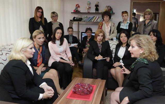 Mihajlovićeva najavila pomoć ženama iz sigurnih kuća prilikom zapošljavanja