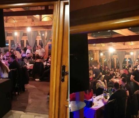 I u Nišu prekinuta kafanska žurka: 180 ljudi u jednom restoranu protivno aktuelnim merama