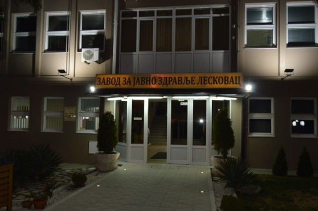 Реконструисана зграда Завода за јавно здравље у Лесковцу